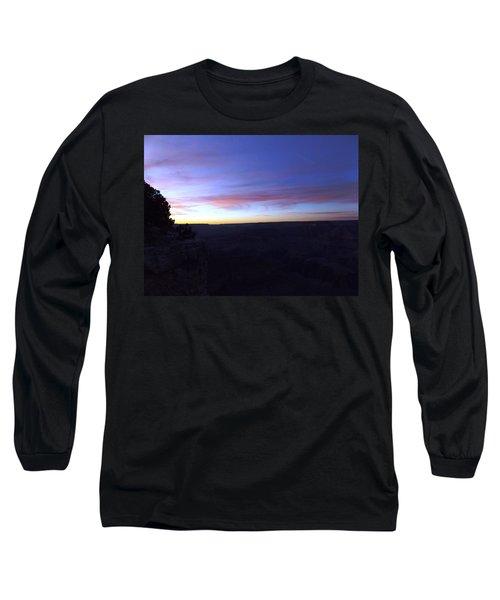 Pastels At Dark Long Sleeve T-Shirt by Adam Cornelison