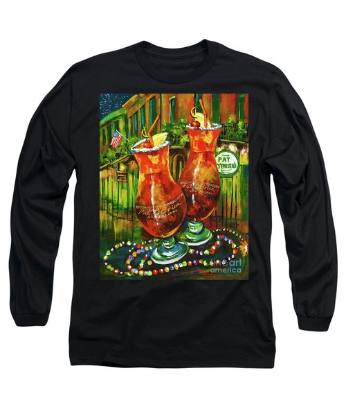 Pat O' Brien's Hurricanes Long Sleeve T-Shirt