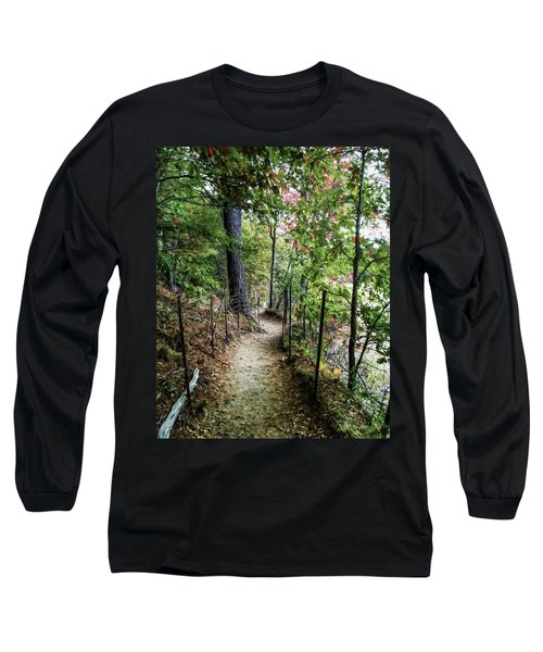 Path Along The Pond Long Sleeve T-Shirt