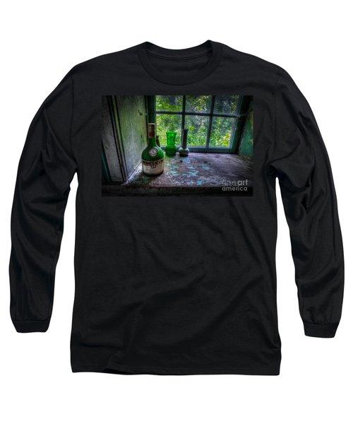 Patina In Green Long Sleeve T-Shirt