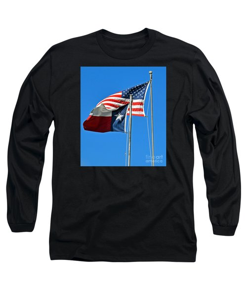 Patriot Proud Texan  Long Sleeve T-Shirt