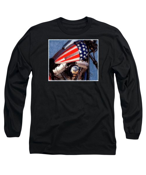 Live To Ride Long Sleeve T-Shirt by Colleen Taylor