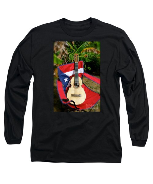 Patriotic Cuatro Long Sleeve T-Shirt