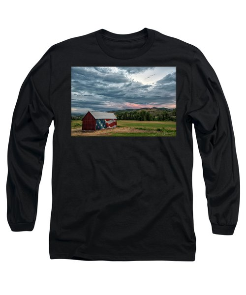 Patriotic Long Sleeve T-Shirt