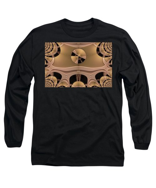 Pattern Long Sleeve T-Shirt by Ron Bissett