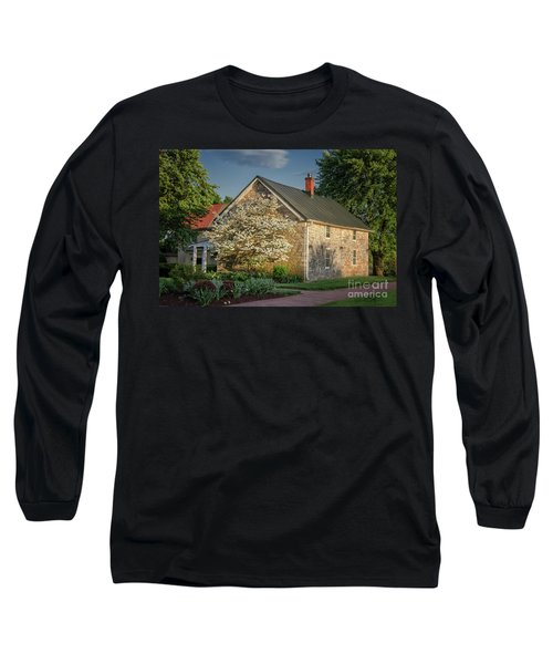 Long Sleeve T-Shirt featuring the photograph Patterns Of Shadow And Light by Lois Bryan