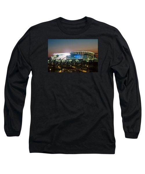 Paul Brown Stadium Long Sleeve T-Shirt by Scott Meyer