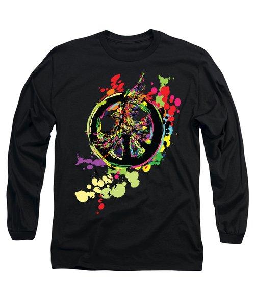 Peace And Peace Long Sleeve T-Shirt