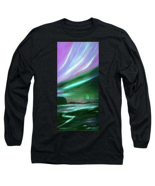 Peace Is Colorful 2 - Vertical Painting Long Sleeve T-Shirt