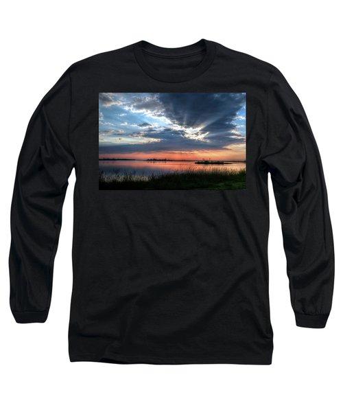 Peace Long Sleeve T-Shirt by Ronda Ryan