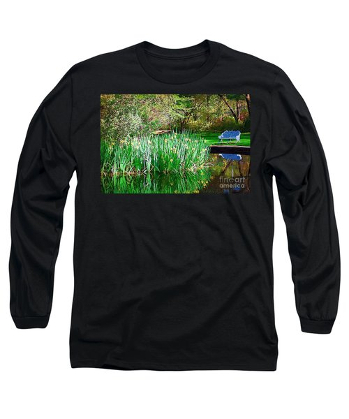 Long Sleeve T-Shirt featuring the photograph Peaceful by Donna Bentley