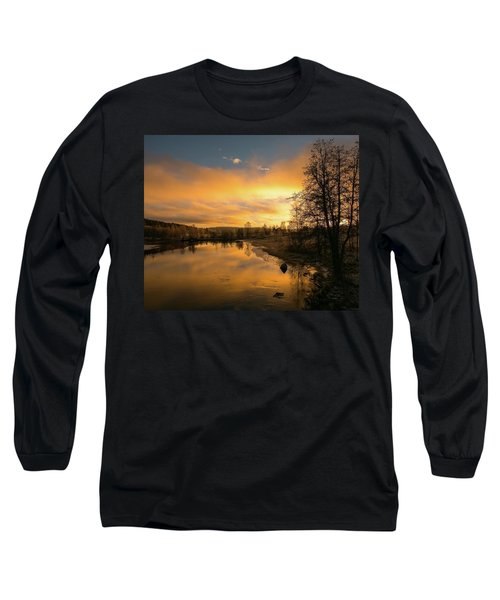 Peaceful Thoughts Long Sleeve T-Shirt by Rose-Marie Karlsen