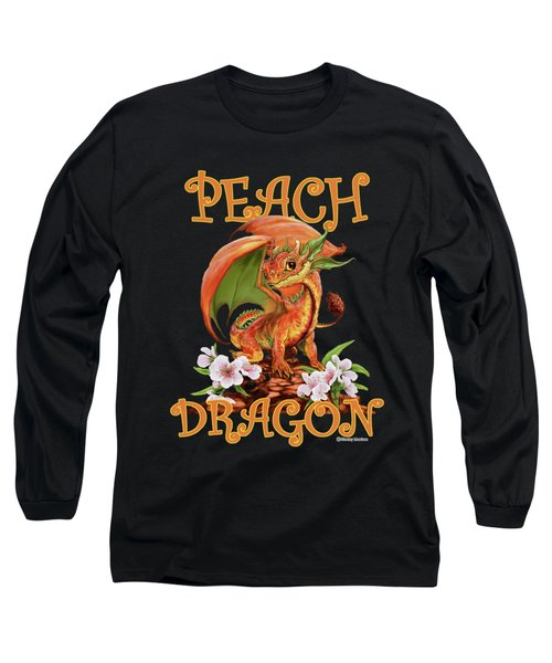 Peach Dragon Long Sleeve T-Shirt