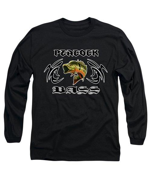 Peacock Bass 2 Long Sleeve T-Shirt