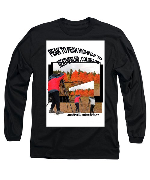 Peak To Peak Highway Long Sleeve T-Shirt