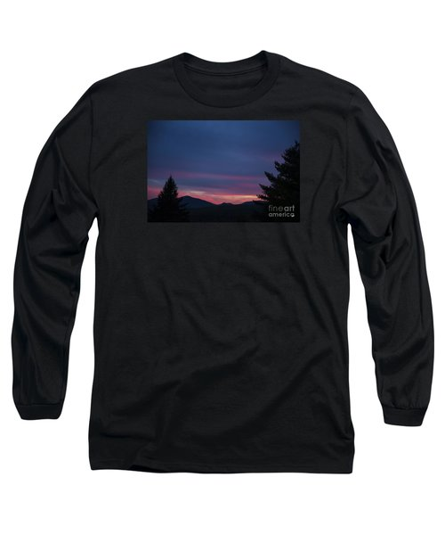 Long Sleeve T-Shirt featuring the photograph Peaks by Alana Ranney