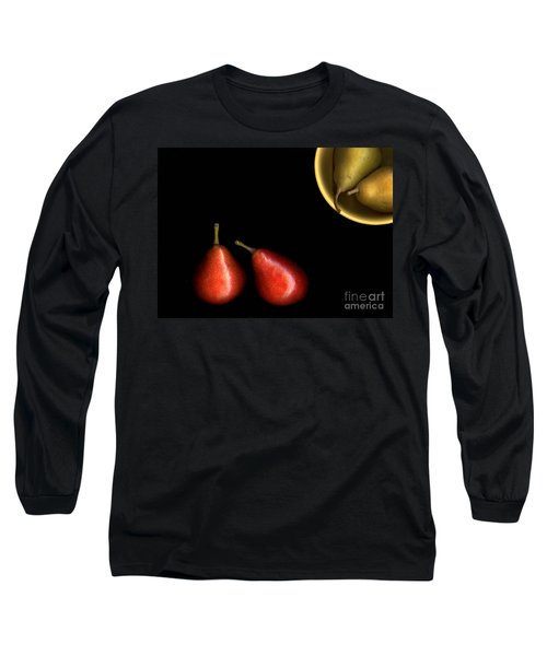 Pears And Bowl Long Sleeve T-Shirt