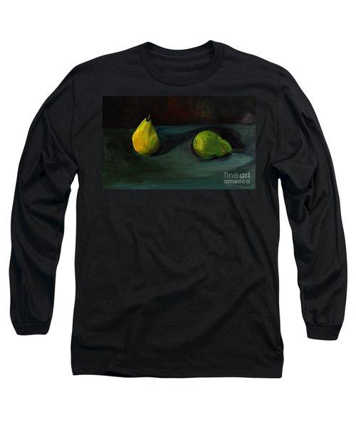 Pears Apart Long Sleeve T-Shirt by Daun Soden-Greene