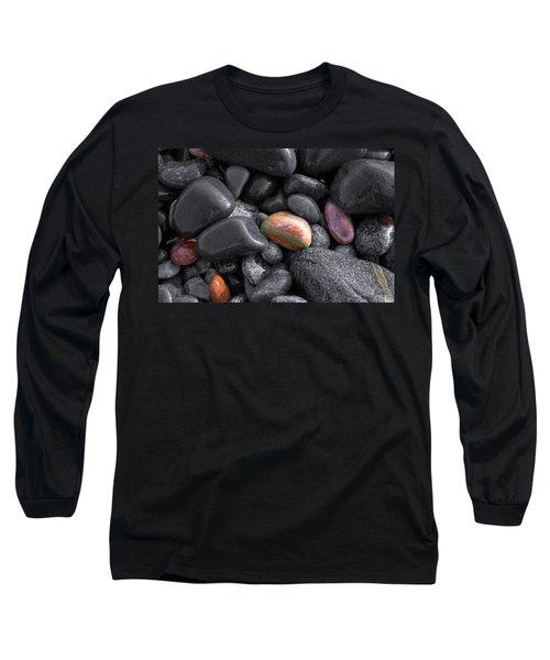 Pebble Jewels   Long Sleeve T-Shirt