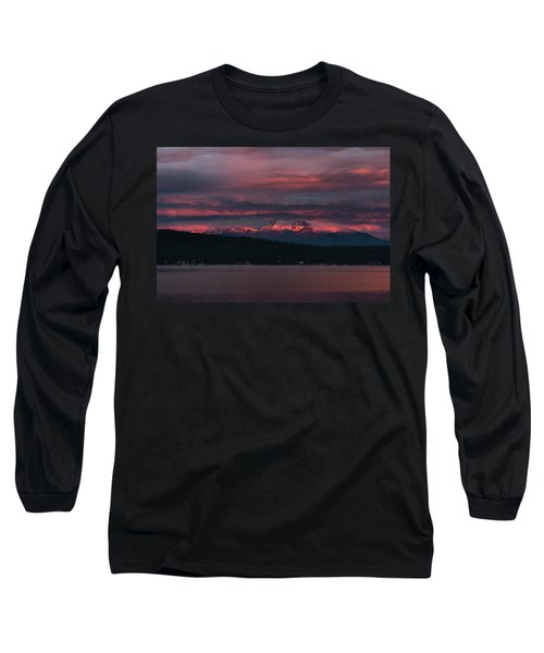 Peekaboo Sunrise Long Sleeve T-Shirt by Jan Davies