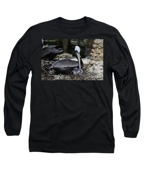 Pelican Hug Long Sleeve T-Shirt