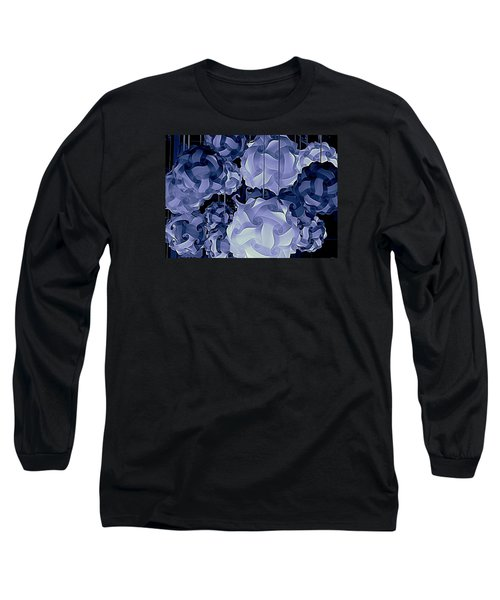 Pendants In Purple Long Sleeve T-Shirt