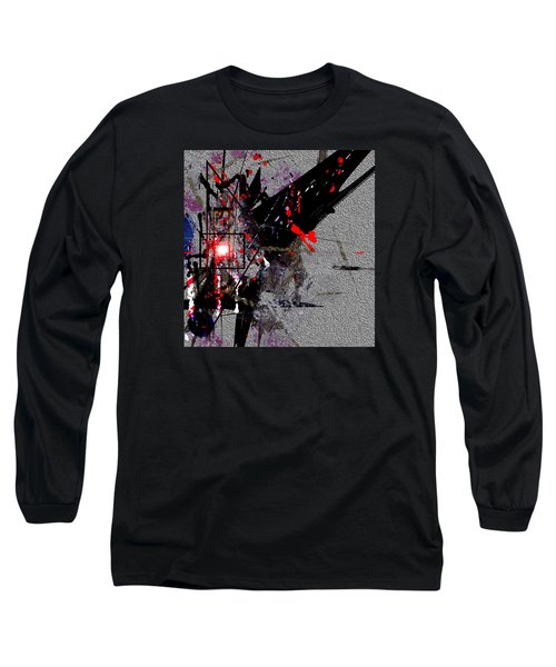 Penman Original-230 Point Of Impact Long Sleeve T-Shirt by Andrew Penman