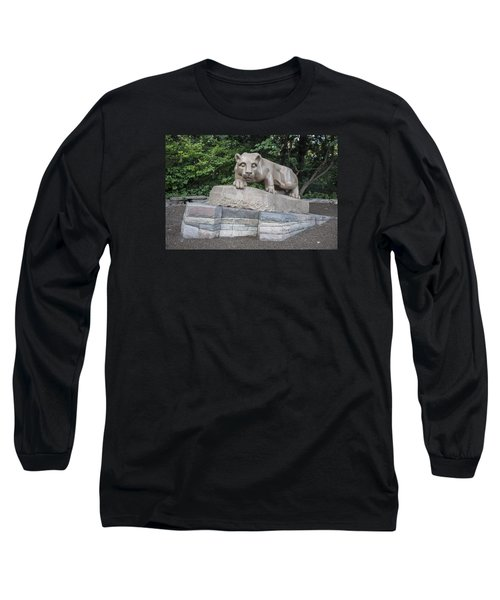Penn Statue Statue  Long Sleeve T-Shirt by John McGraw