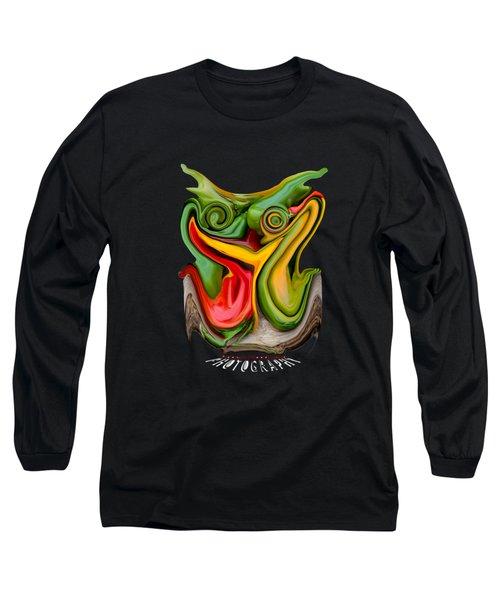 Pepper Strigiform Transparency Long Sleeve T-Shirt