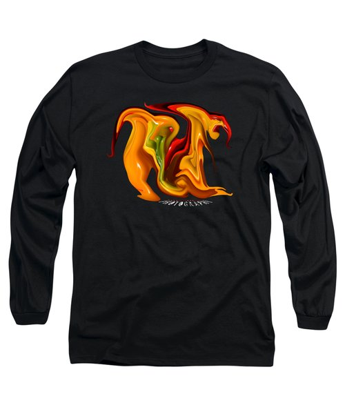 Peppers Lion Transparency Long Sleeve T-Shirt