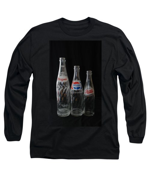 Pepsi Cola Bottles Long Sleeve T-Shirt