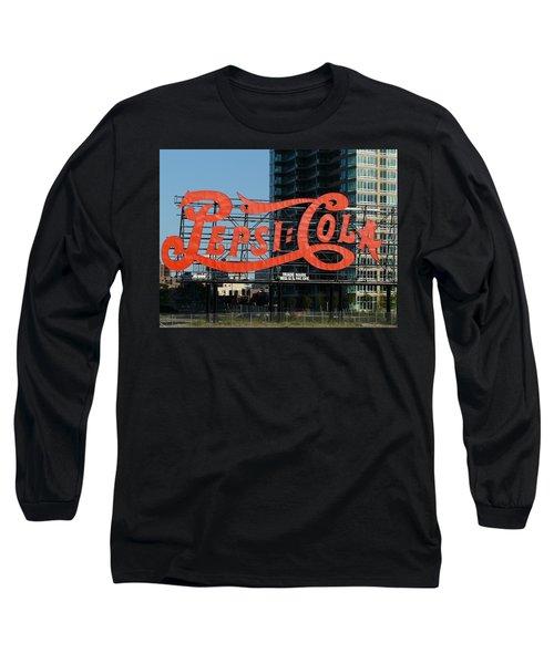 Pepsi-cola Long Sleeve T-Shirt