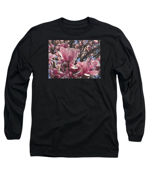 Perfect Pink Petals Long Sleeve T-Shirt