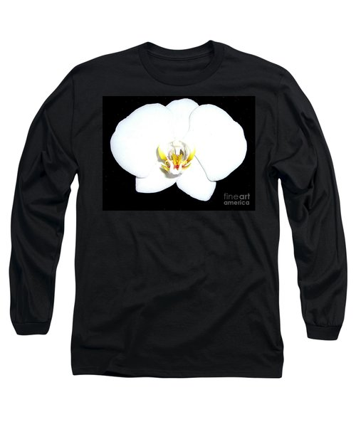 Perfect White Orchid Long Sleeve T-Shirt