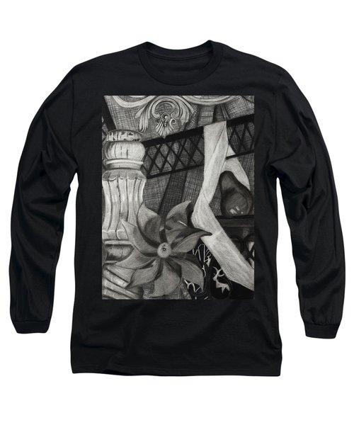 Perpeptual Pinwheel Long Sleeve T-Shirt
