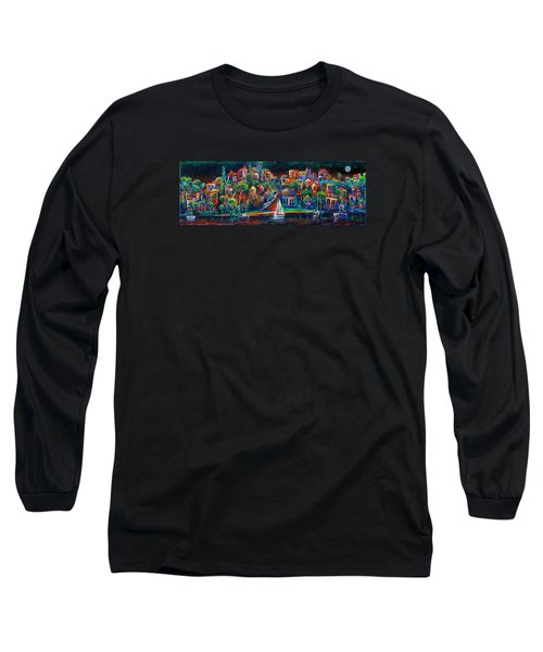 Perth By Night Long Sleeve T-Shirt