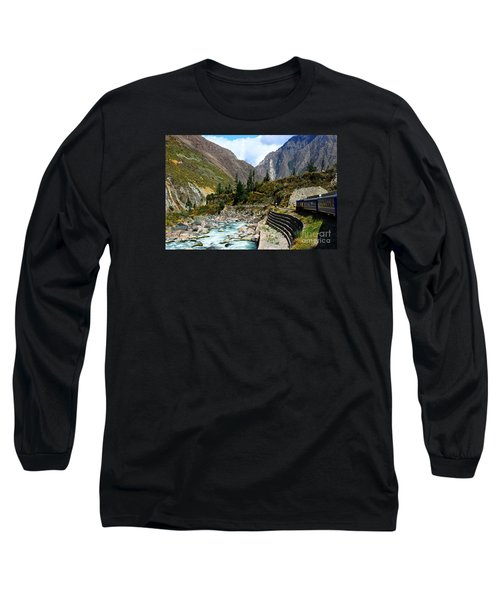 Peruvian Railway Long Sleeve T-Shirt