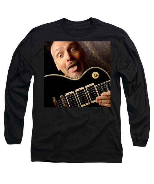 Peter Frampton By Gene Martin Long Sleeve T-Shirt
