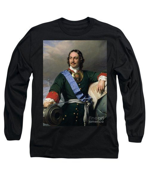 Peter I The Great Long Sleeve T-Shirt