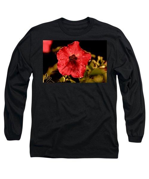 Petunia After Rain Long Sleeve T-Shirt