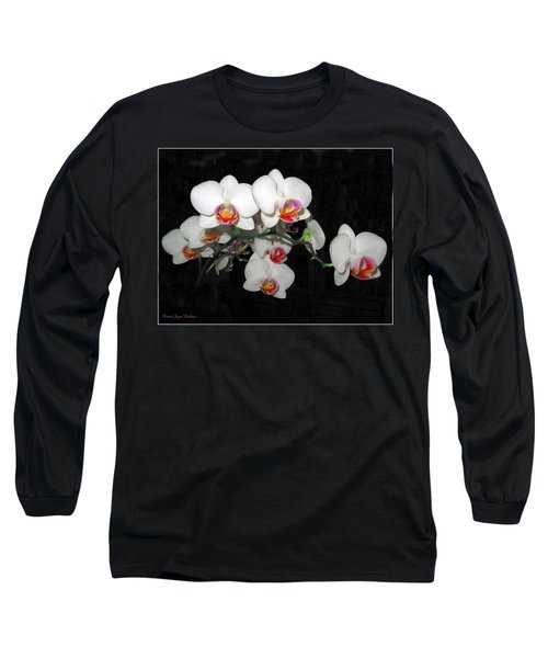 Phalaenopsis Orchids Long Sleeve T-Shirt