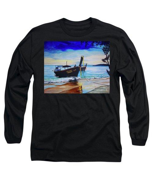 Phi Phi Long Sleeve T-Shirt by Stuart Engel