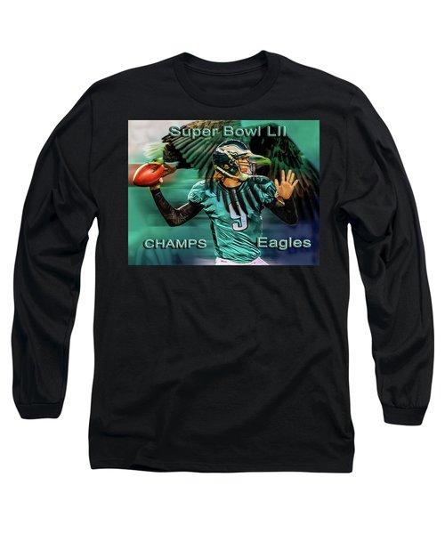 Philadelphia Eagles - Super Bowl Champs Long Sleeve T-Shirt