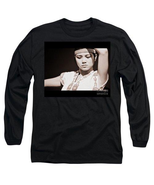 Philippino Dancer Long Sleeve T-Shirt