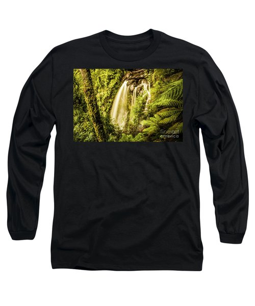 Philosopher Falls, Western Tasmania Long Sleeve T-Shirt