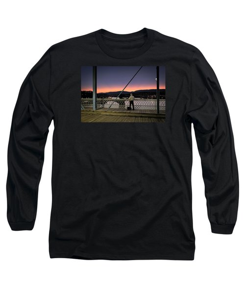 Photographing The Sunset Long Sleeve T-Shirt