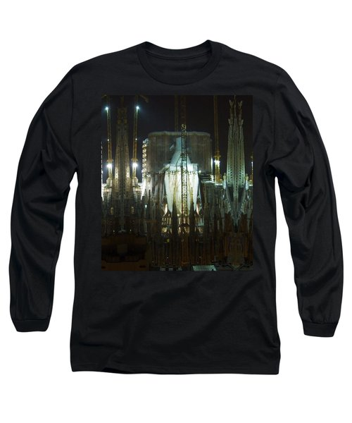 Photography Lights N Shades Sagrada Temple Download For Personal Commercial Projects Bulk Printing Long Sleeve T-Shirt
