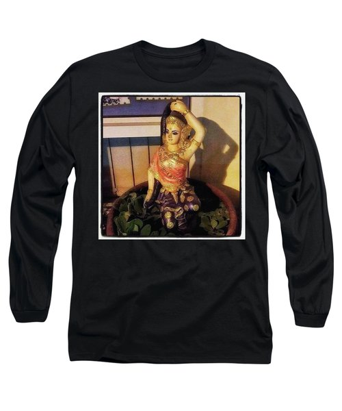 Long Sleeve T-Shirt featuring the photograph Phra Mae Thorani. Holy Mother Of Earth by Mr Photojimsf