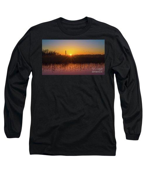 Phragmites Reflections Long Sleeve T-Shirt