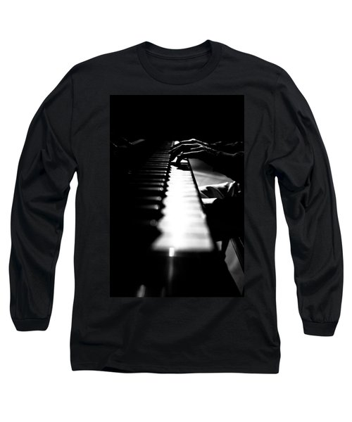 Piano Player Long Sleeve T-Shirt